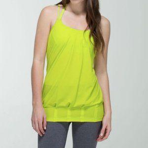 ✨Lululemon No Limits Tank- Yellow Green